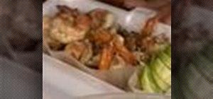 Make Thai street vendor style garlic shrimp