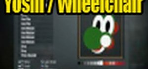 Draw a Yoshi playercard emblem in the Black Ops Emblem Editor
