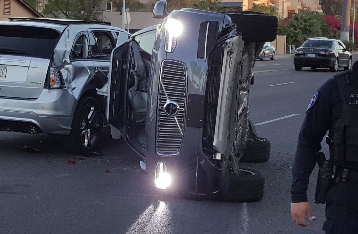 Three Days After Major Crash, Uber's Self-Driving Cars Are Back on the Streets