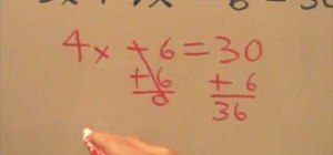 Solve for X (advanced)