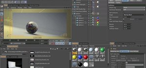 Add dynamics to concave objects in Cinema 4D