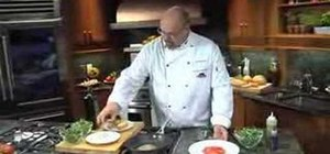 Prepare seared tuna bruschetta with Red Lobster's Michael LaDuke