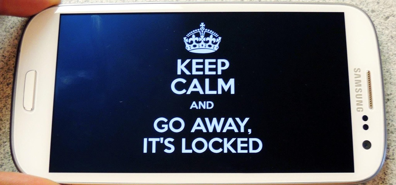 how to stay on lock screen samsung
