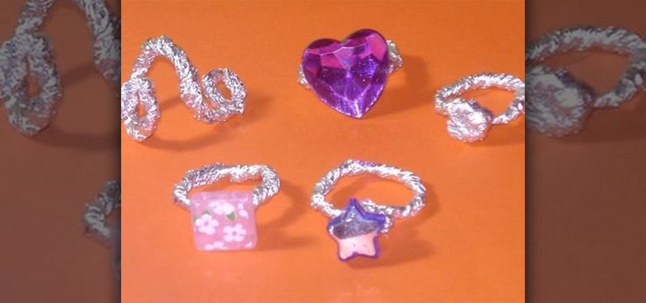 How To Make Tin Foil Rings 171 Kids Activities