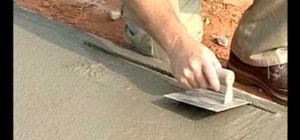 Use edging trowels