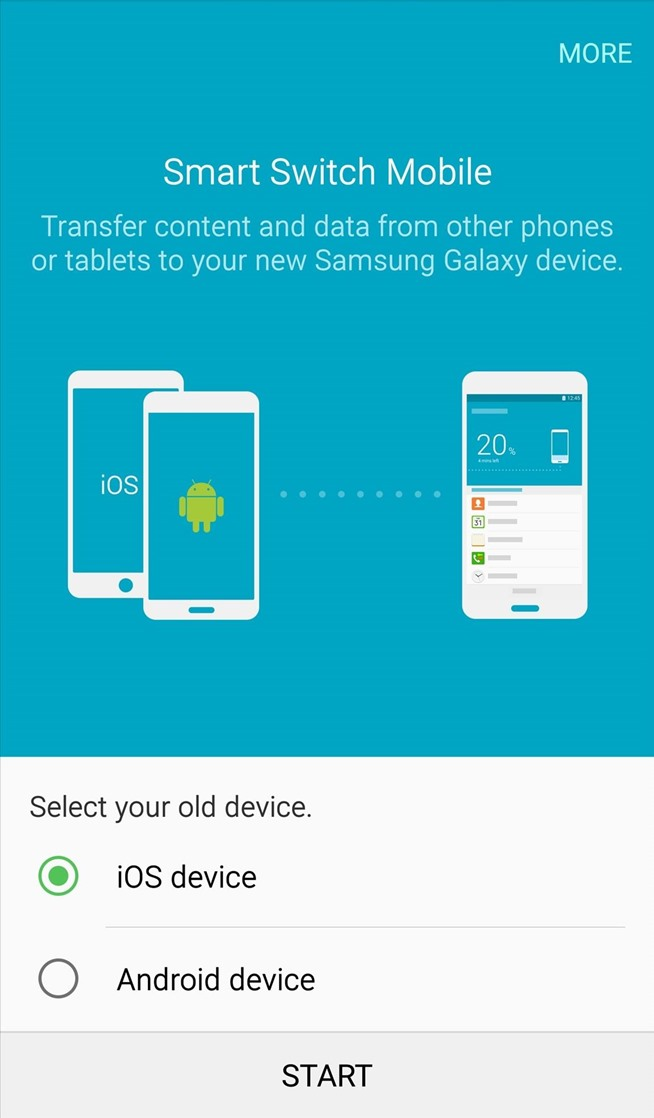 How to Transfer Apps, Music, Photos, & More from an iPhone to a Samsung Galaxy