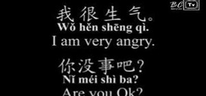 Talk about emotions and feelings in Chinese