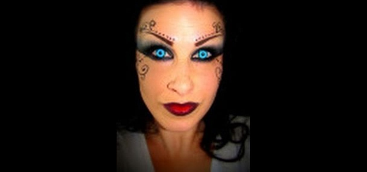 How To Create A Macabre And Beautiful Dark Fairy Halloween Makeup Look