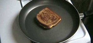 Make a crispy grilled sandwich