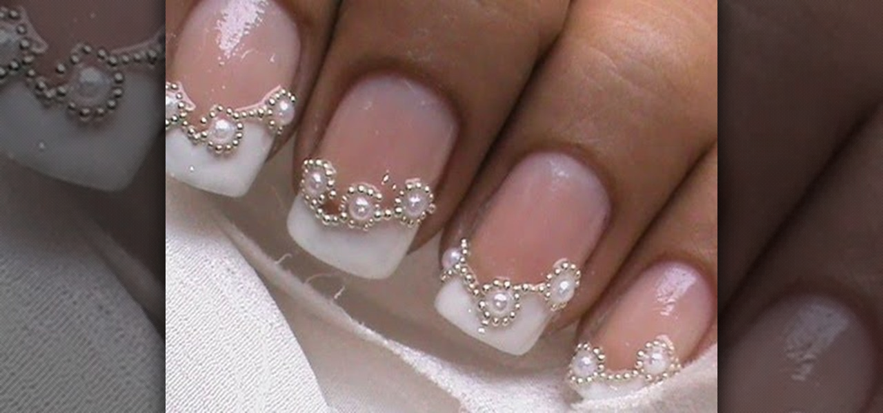 How to Do Bridal French Tip Nails « Nails & Manicure :: WonderHowTo