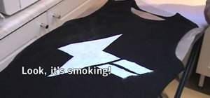 "Sew Lady Gaga's lightning bolt t-shirt from ""Lovegame"""