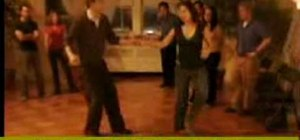 Do advanced lindy hop dancing