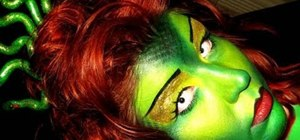 Create a deathly beautiful Medusa makeup look for Halloween