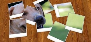 Make a fake Polaroid frame for an image in Photoshop