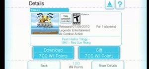 Download and play classic games on the Nintendo Wii