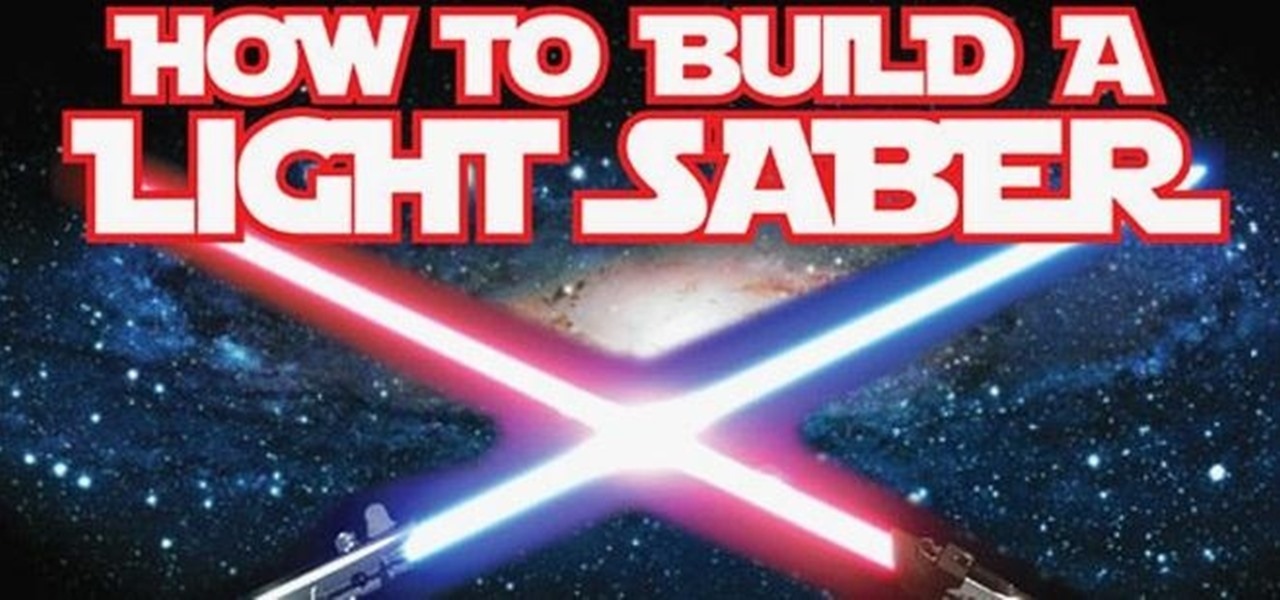 Build a Star Wars Lightsaber (Infographic)