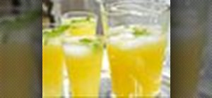 Make delicious orangeade with orange, lemon and lime juice