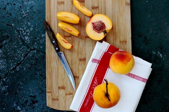 RECIPE: Indian Spiced Upside Down Peach Cake