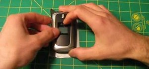 Make a cell phone case from duct tape