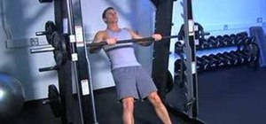 Do Smith machine inverted palm down pull-ups
