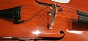 Change Strings on an Upright Double Bass