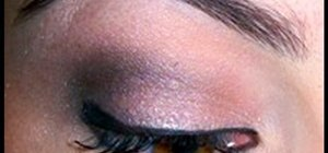 Do an Outer V eyeshadow to lift your eyes