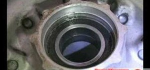 Replace motorcycle wheel bearings & engine bearings
