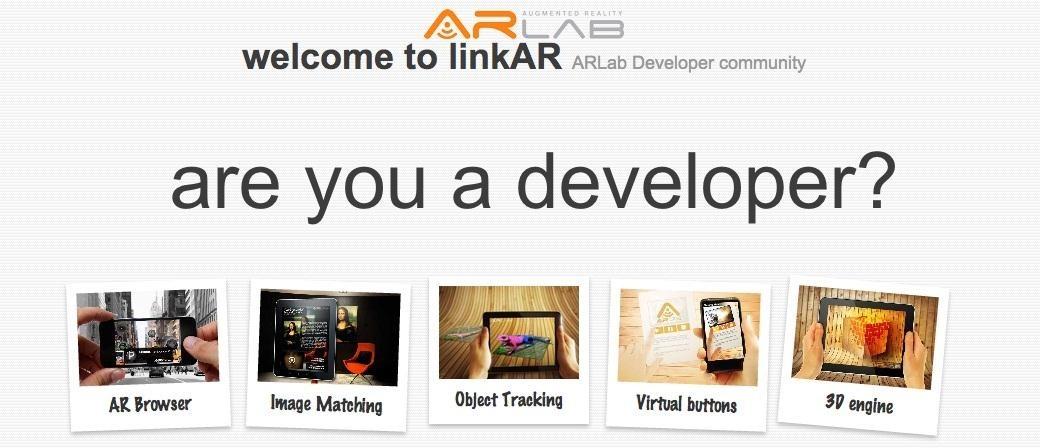 LinkAR, the First Community for AR Devs