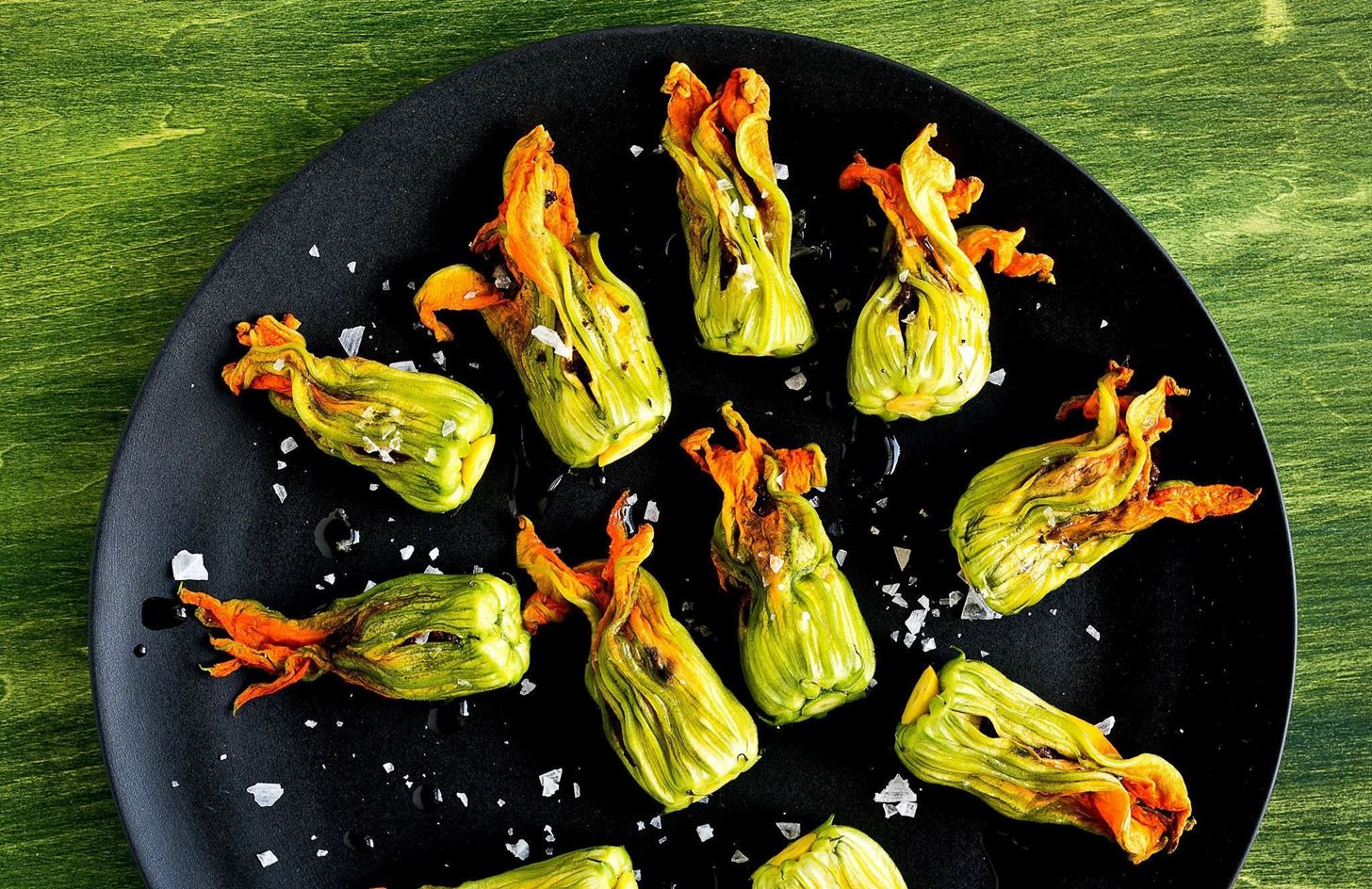 Weird Ingredient Wednesday: Zucchini Blossoms