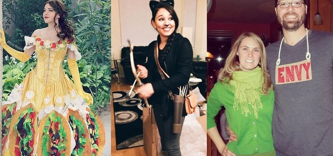 how to 11 last minute halloween costume ideas that are punny as hell - Simple And Creative Halloween Costumes