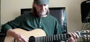 Play an easy G blues progression on acoustic guitar