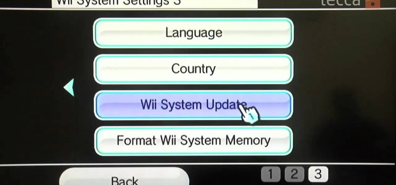 Perform a Software Update on Your Nintendo Wii System