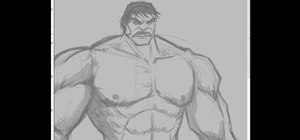 Draw the Incredible Hulk