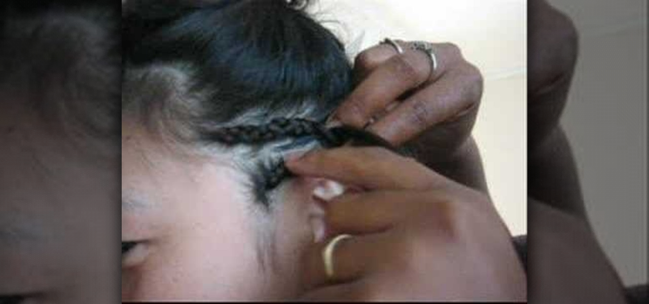 How To Braid Extensions Into Hair Hairstyling Wonderhowto