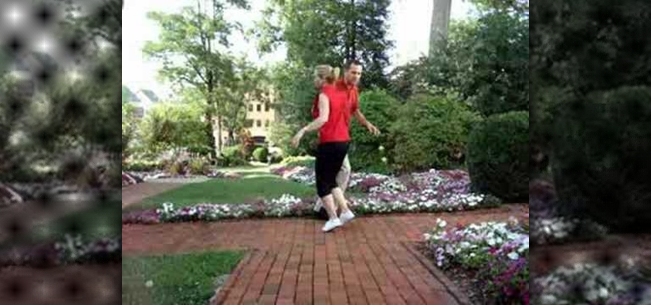Dance Double Outside Jitterbug Turn X on Basic Country Line Dance Steps