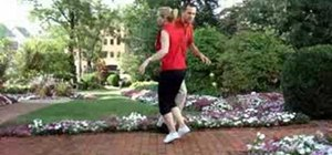 Dance the double outside Jitterbug turn