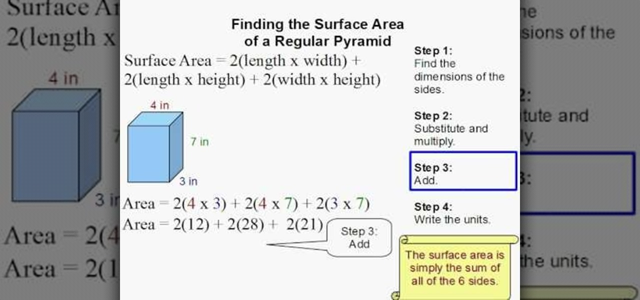 how to find the area of a rectangle Area of a rectangle, triangle, circle & sector, trapezoid, square, parallelogram,  how to find height and understand the formula for area of an oblique triangle - duration: 7:39.
