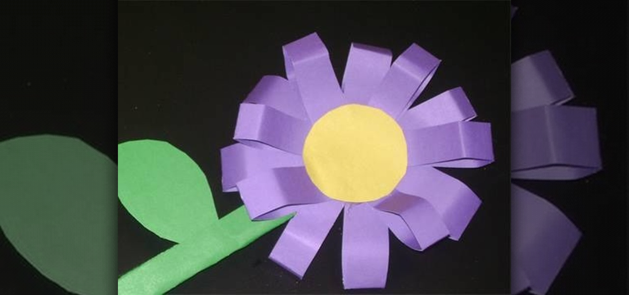 Craft Flowers For Kids Part - 22: How To Craft A 3D Toy Flower With Your Kids « Kids Activities :: WonderHowTo