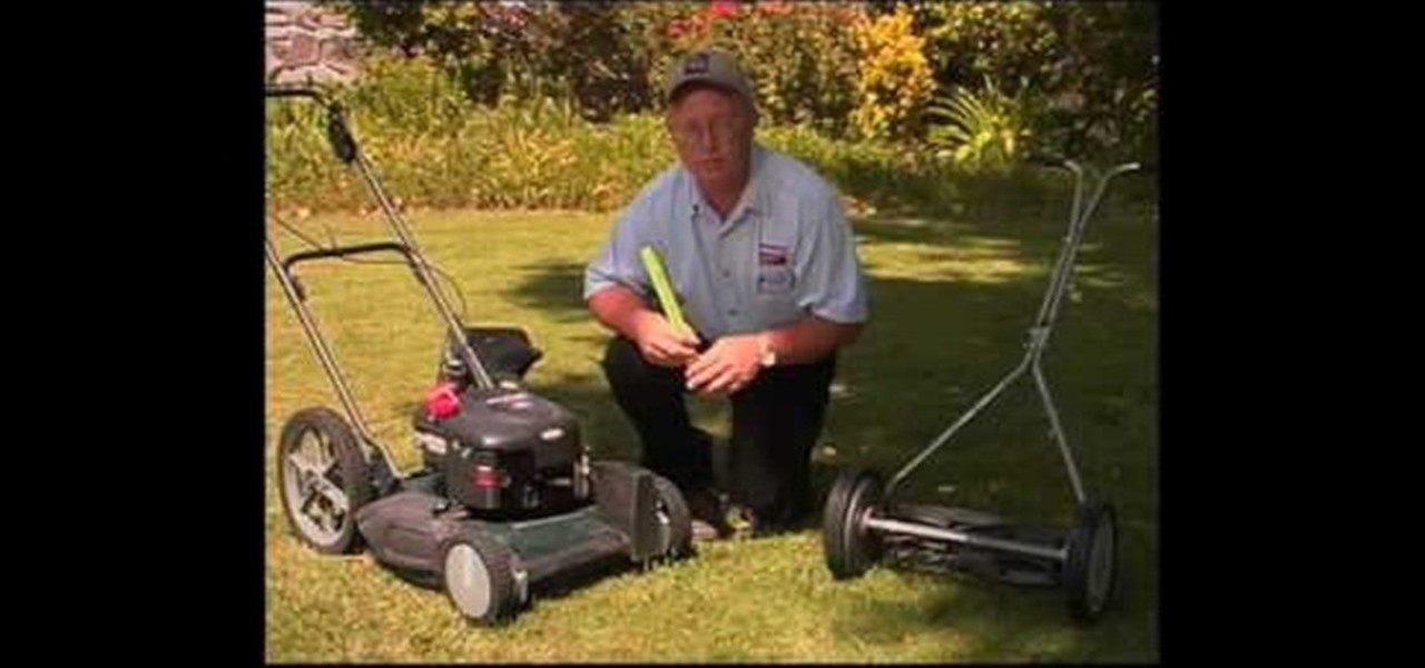 how to use a mower effectivly
