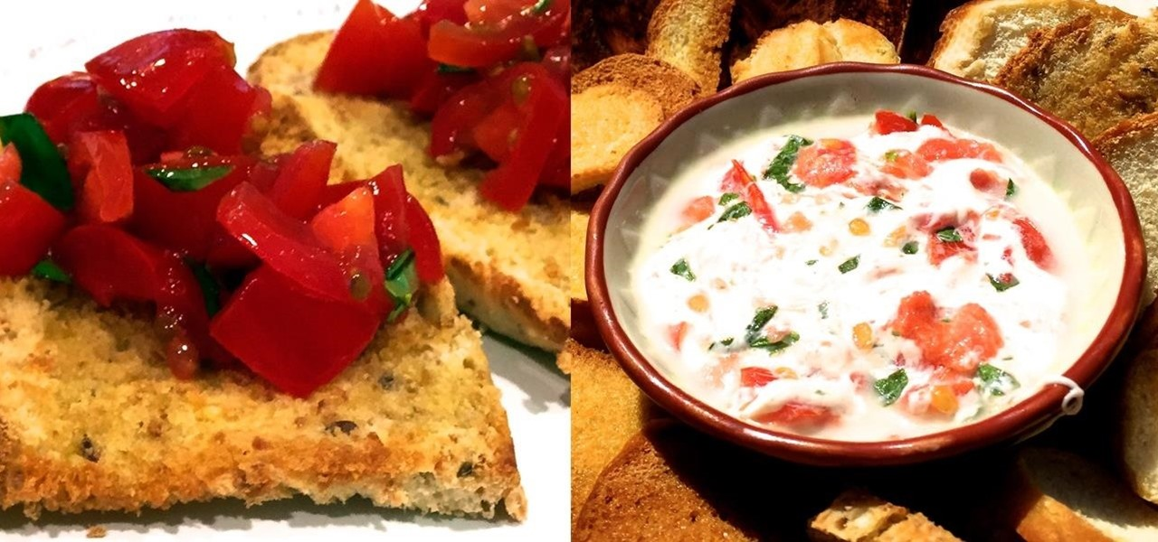 Make 5 Amazing Appetizers Using the Same 3 Ingredients