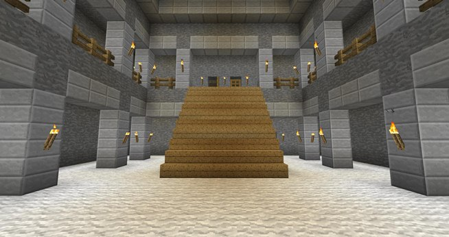 Pics For > Minecraft Inside Mansion Ideas