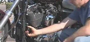 Change the oil in your motorcycle