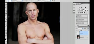 Use Adobe Photoshop CS5 to remove shallow wrinkles