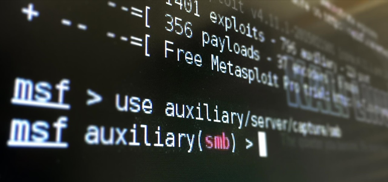Metasploit for the Aspiring Hacker, Part 8 (Setting Up a Fake SMB Server to Capture Domain Passwords)