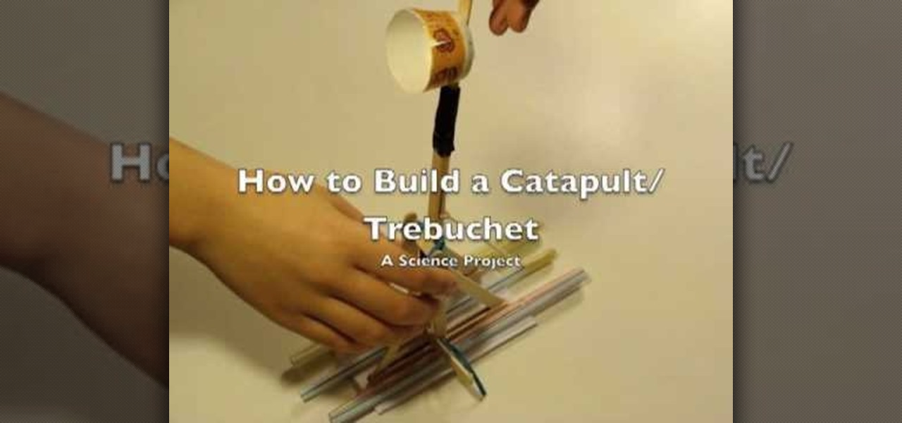 How To Build A Popsicle Catapult 171 Construction Toys