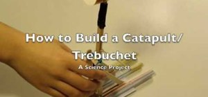 Build a popsicle catapult