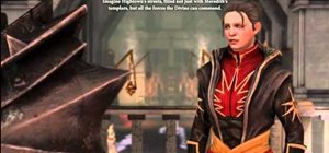 Clear the 'Faith' Companion Quest in the Dragon Age 2 The Exiled Prince DLC