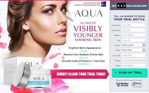 Aqua Hydro Skin Care FREE TRIAL OFFER TODAY!