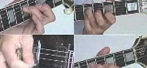 Play Wake Me Up When September Ends on guitar