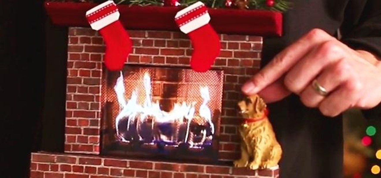 Christmas sweater with fireplace